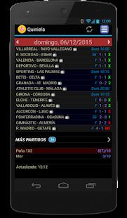 Quiniela Screenshot 1