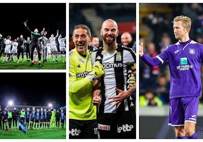 Mooi eerbetoon van Cercle én Club aan Miguel Van Damme, swingend Anderlecht en sterke Zebra's