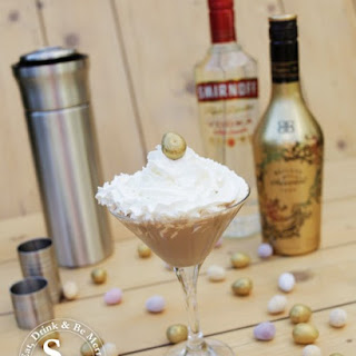 Easter Chocolate Flat White Martini.
