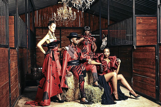 David Tlale is looking to paint the town red at this year's Durban July.