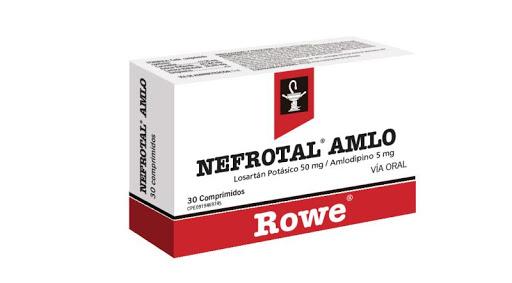 Losartan Potasico + Amlodipina Nefrotal AMLO 50/5mg