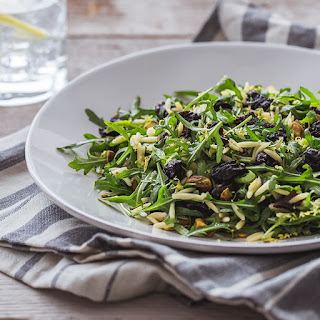 Orzo & Arugula Salad With California Prunes.