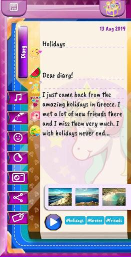 Unicorn Diary Premium