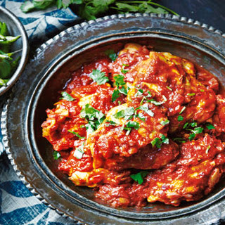 Sweet And Tangy Chicken Curry.