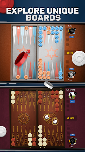 Free Backgammon Go: Best online dice & board games 2.9.1 gameplay | by HackJr.Pw 2