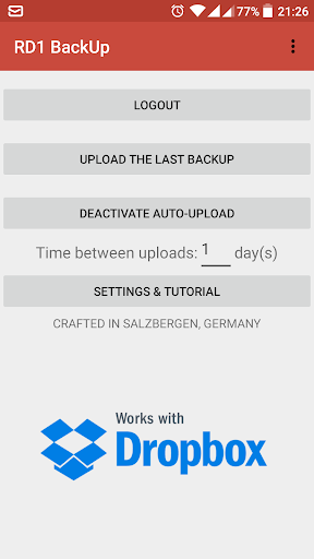 App Backup & Restore v4.0.3 para Android - Download em Português