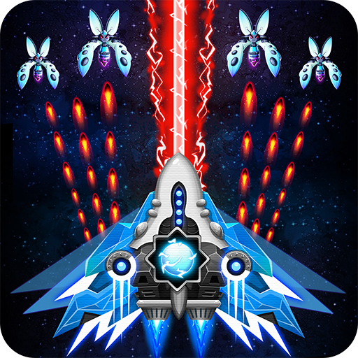 Save the galaxy from alien shooter in free galaxy shooter-classic arcade game 🚀