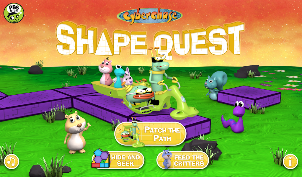 CyberChase Shape Quest!