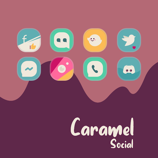 Download Caramel Icon Pack For PC 1