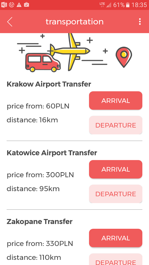 KrakowDeals- screenshot