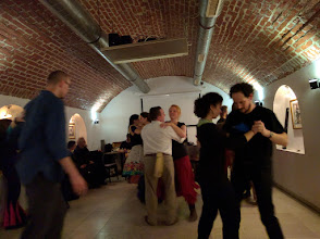 Photo: The Friday night 'session with dancing', towards the end when it was getting less crowded.