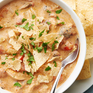 Slow-Cooker King Ranch Chicken Soup.