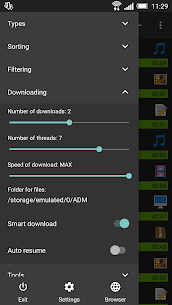 Advanced Download Manager Pro 5.1.2 build 51251 Cracked Apk 2