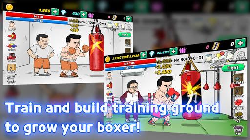 Boxer Clicker : Be The Legend apkmind screenshots 2