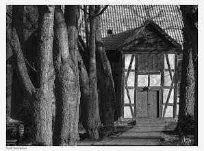 Photo: Die Fachwerkkirche aus dem Jahre 1721 in Groß Teetzleben bei Altentreptow.