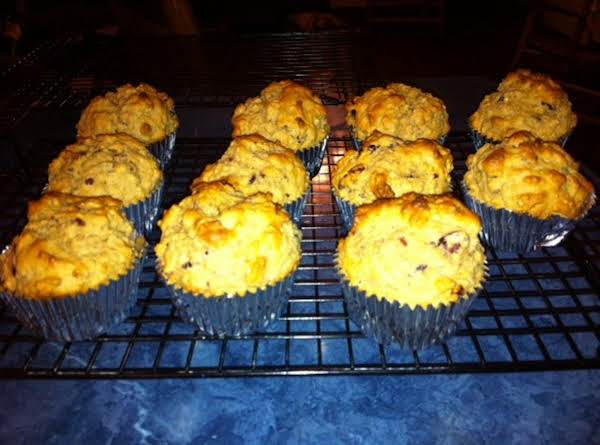 Cranberry Oatmeal Muffins Recipe