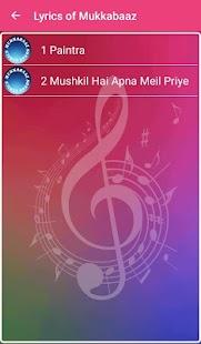 Lyrics of Mukkabaaz - náhled