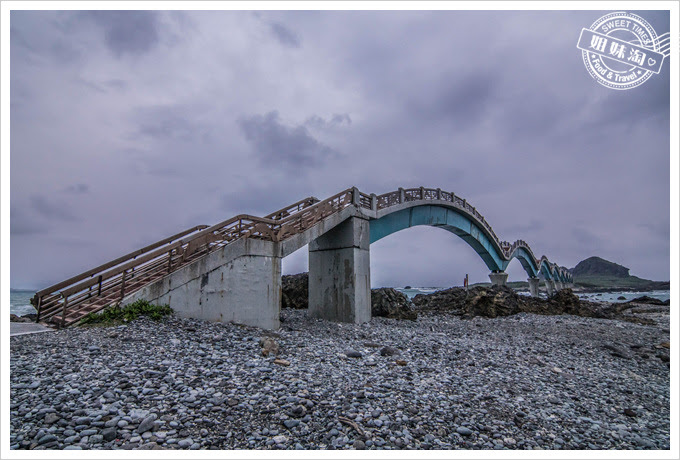三仙台跨海八拱步橋