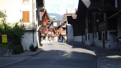 Photo: Brienz műemlék főútcája