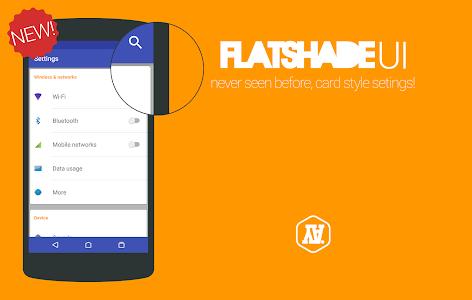 flatshade UI for CM12 v1.5.1