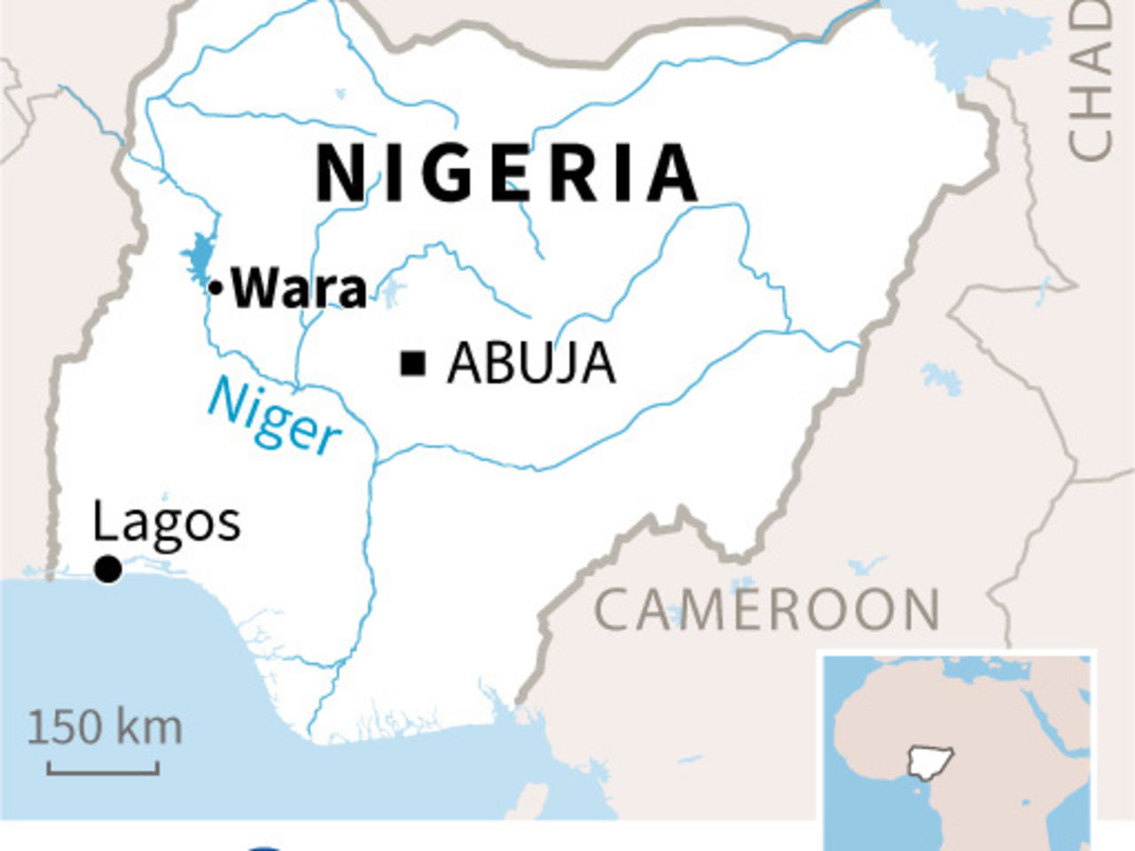More than 150 feared drowned in Nigeria boat accident - France 24