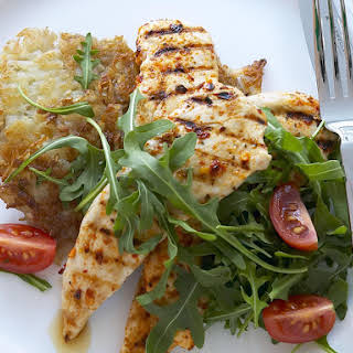 Piri Piri Chicken with Potato Rosti.