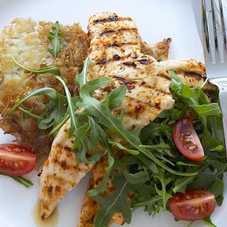 Piri Piri Chicken with Potato Rosti.