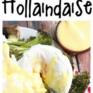 So Simple Hollandaise Sauce.
