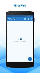 PDF to Word Converter Pro Mod Apk (Pro Features Unlocked) 1