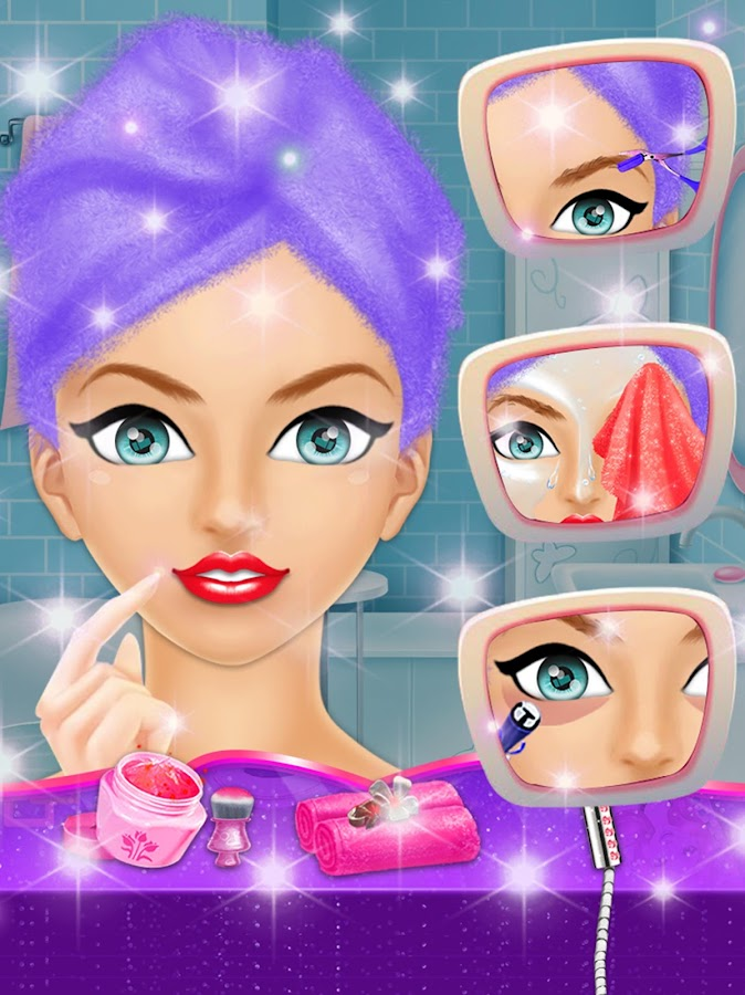Girl Spa Salon Makeup dressup- screenshot