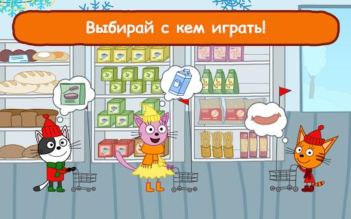 Три Кота Магазин: Развивающие Игры для Детей app (apk) free download for Android/PC/Windows screenshot