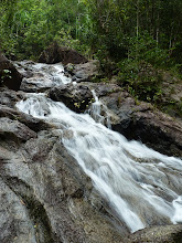 Photo: Ko Phangan motobiking around - stream at Phaeng waterfall