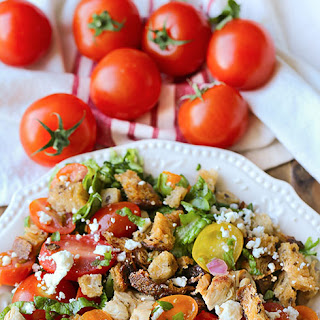 Italian Chicken Panzanella