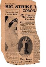 Photo: Late London Edition (date unknown) 新聞名、発効日不明。ロンドン版夕刊。
