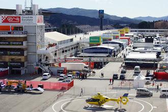 Photo: Circuit de Barcelona-Catalunta - Paddock