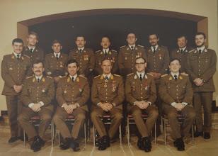 Photo: 15 Nov 1981 Van Hoorebeke, Vandevoorde, Vermaerke, Amel, Van De Velde, Aesseloos, Chapelle, Plainchamp, Delval. Estievenart, Leyssens, Duyssens, Bertrand, Rogiest
