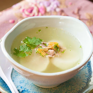 Chinese Scallop Soup Recipes.