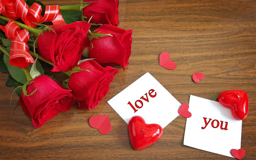 Romantic love messages images