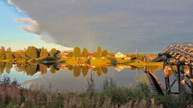 Photo: Jyskyjärven kylä, Vienan Karjala