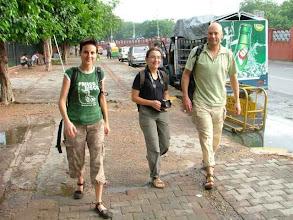 Photo: Old Delhi - Marta, Armelle i Vincent - nasi pierwsi znajomi z Francji (our first friends from France)