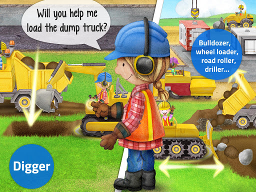 Tiny Builders: Crane, Digger, Bulldozer for Kids  screenshots 11