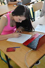 Photo: Dějepisná soutěž o cenu Dominika Haška (1. kolo, kmenová učebna třídy 4. A, 31. květen 2012).