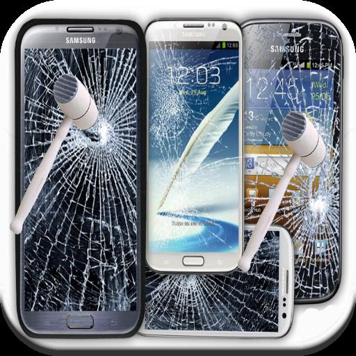 ひびの入った画面の悪ふざけ 娛樂 App LOGO-硬是要APP