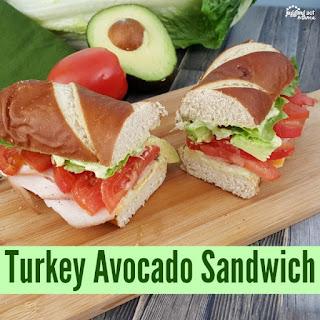 Turkey Avocado Sandwich.