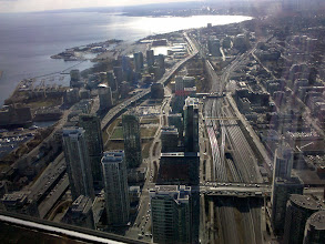 Photo: View from CN Tower