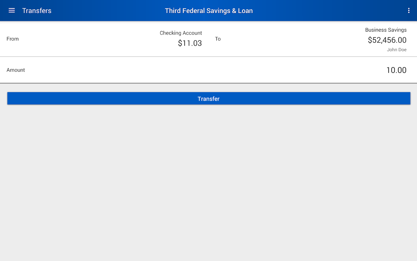 Third Federal Savings & Loan- screenshot