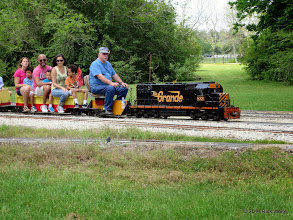 Photo: Engineer Gerald Lee at East Sumrall at 11:52 AM.    HALS Public Run Day 2014-0419 RPW