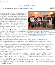 Photo: 20091204 NR sportifs récompensés