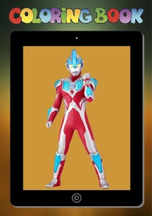 New Coloring Game for Children of Ultraman Ginga - náhled