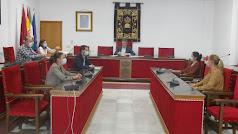 Reunión de la Junta de gobierno en Adra.